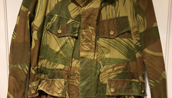 Rhodesian 1st Pattern Camouflage (1965 – 1966)