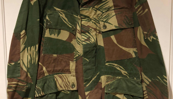 Rhodesian Brushstroke Camouflage (1965 – 1980, Later version)
