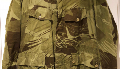 Rhodesian Arid Brushstroke Camouflage (1960's)