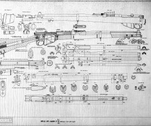 Short, Magazine Lee Enfield (SMLE) rifle and Pattern 1907 bayonet (1903)(3)