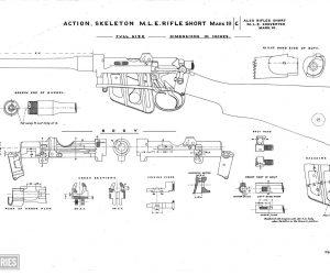 Short, Magazine Lee Enfield (SMLE) rifle and Pattern 1907 bayonet (1903)(7)