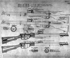 Short, Magazine Lee Enfield (SMLE) rifle and Pattern 1907 bayonet (1903)(8)